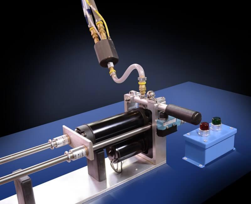 Hydraulic Cylinder Test and Fill