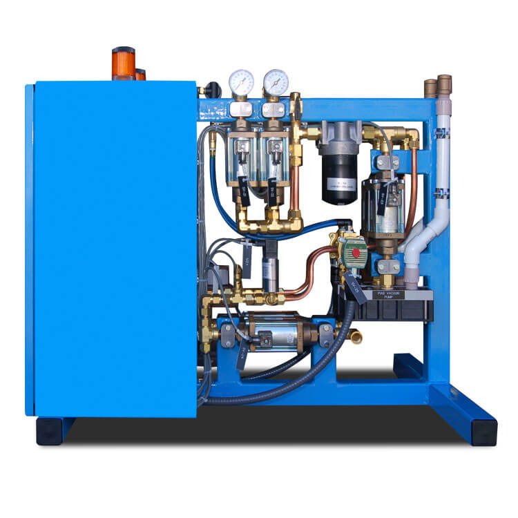 Hydraulic & Coolant System Test System Piping View